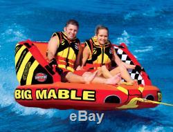 Sportsstuff Big Mable Towable Tube 2P Float Raft Water Ski Boat Lake River Beach