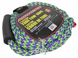 Sportsstuff Chariot Warbird 2 Rider Towable Inflatable Water Tube + 60 Foot Rope
