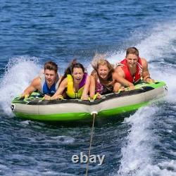 Sportsstuff G Force Inflatable 4 Seater Towable Heavy Duty Water Tube (Open Box)
