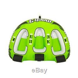 Sportsstuff Mach 3 Triple Rider Towable Water Lake Ocean River Tube (Open Box)