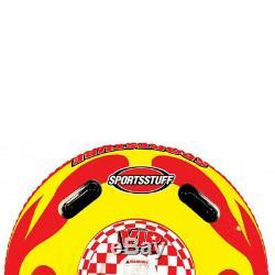 Sportsstuff Sportstube VIP Inflatable Towable Single Rider Water Tube (4 Pack)