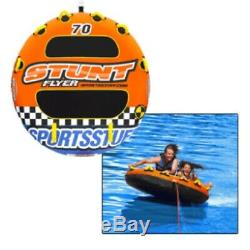 Sportsstuff Stunt Flyer Inflatable watersports 2person Towable water tube