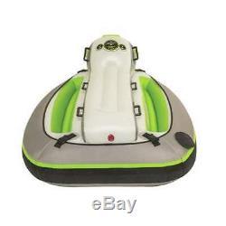 Sportsstuff Xcelerator 2 Person Water Lake Ocean Towable Ride On Tube (Open Box)