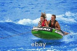 Super Fun & Durable 2 Person Water Towable Tube Pool Float with Quick Connect Hook