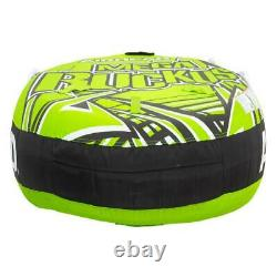 TOWABLE TUBE 3 Person Inflatable Raft Water Sports Boat Tubing Boating Rider NEW