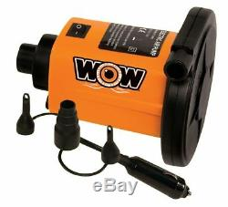 Thriller 1 Person Towable Water Tube Starter Kit with 12V Pump & 1K Tow Rope