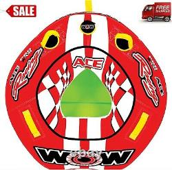 Top Selling World of Water-sports, Ace Racing Towable Tube, 1 Person, Limited
