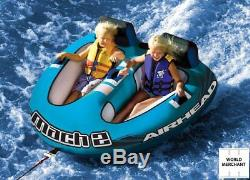 Towable Inflatable Rafts For Kids Adults Two Person Water Rafting Inner Tube Ski