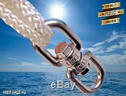 Towable Inflatable Tube Swivel Tow Water Rider Boat Lake Sport Extreme Tumbling