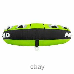 Towable Tube 3-Person Inflatable Boat Water Sports Tow Float Boating Ride Tubing