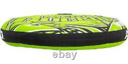 Towable Tube 3 Person Inflatable Boat Water Sports Tow Float Boating Ride Tubing