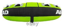 Towable Tube Inflatable 3 Person Boat Raft Water Sports Ride Tubing Boating New