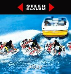 Towable Tube Inflatable Raft Boat Water River Rider Float Flex Wing System