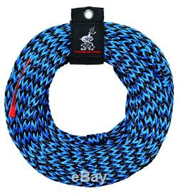 Towable Tube Tow Rope For 3 Person Float Inflatable Water Boat Heavy Duty Cable