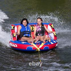 Towable Tube Water Sport Boat Summer WaterAirhead Patriot 2 Person Towable Kwik