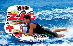 Towable Tubes For Boating 2 Person Water Foam Handles With Knuckle Guards