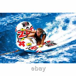 Towable Water Raft Tube 2 Person Winged Rider Float Steerable 18 L Water Sports