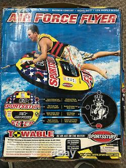 Towable Water Tube Air Force Flyer
