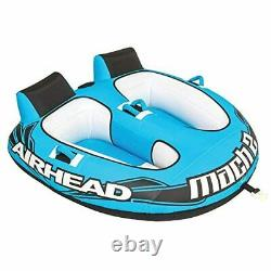 Tube Towable Boat Inflatable Rider Water Wow 2 Person Watersports Lake Sports