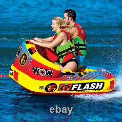 Tube Towable Rider Inflatable Boat Water Boating Sports Lakes Oceans 1-2 Person