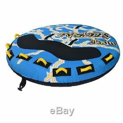 Tube Towable Water Inflatable 4 Person Boat Rider Raft Sea Float Game Airhead