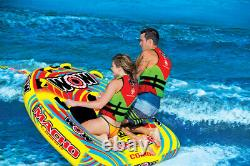 WOW Sports Macho 2 Person Towable Water Tube For Pool and Lake (16-1010)