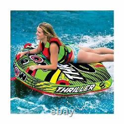 WOW Sports Tube Water Towable Watersports Thriller Deck Inflatable Boat Wild