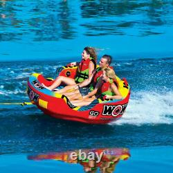 WOW Watersports Go Bot Towable Extreme Secure Inflatable Water Tube (For Parts)