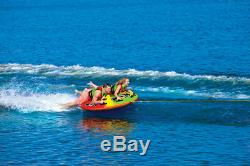 WOW Watersports UTO Galaxy 2 Rider Inflatable Water Tube Boat Towable 18-1080