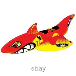 WOW World of Watersports Big Shark 2-Person Towable Water Tube 20-1040