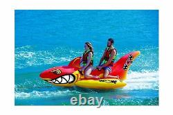 WOW World of Watersports Big Shark, 2-Person Towable Water Tube, 20-1040