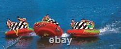 WOW World of Watersports Cyclone Spinner, 1-2 Person Towable Water Tube, 20-1