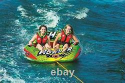 WOW World of Watersports Howler 2-Person Towable Water Tube 20-1030