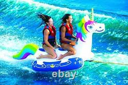 WOW World of Watersports Unicorn 2-Person Towable Water Tube, 20-1020