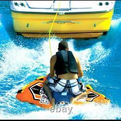 Water Tube 1 Person Flex Wing Drifter Towable Orange Rsenio