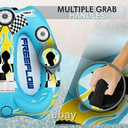 Watersports Inflatable Towable Booster Tube Two Person Water Boating Tow Raft