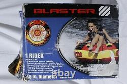 West Marine Blaster One Person Towable Inflatable Tube Boating Water Sports