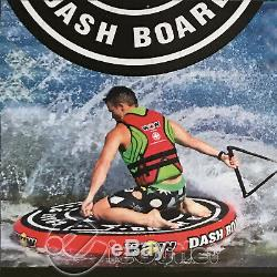 Wow Dash Board Disc Inflatable Toast Rad Tow Lake Boat Tube Towable Water Raft