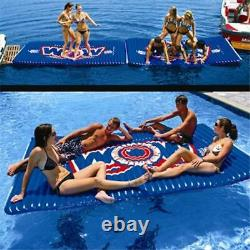 Wow Large Water Walkway Inflatable Island And Towable Water Sport For Pool Lake