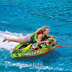 Wow Sports Tube Water Towable Watersports Thriller Deck Inflatable Boat Wild Wak
