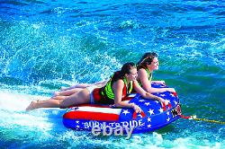 Wow Watersports Ultra Soft Top, Deck Tube Water Towable Tube, Inflatable Boat Tu