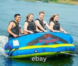 1 2 3 Ou 4 Personnes Tuyau De Remorquage Raft D'eau Pompe À Corde 50' Ho Sports Striker 4