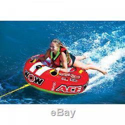 1 Personne Ace Racing Tube Tractable Tuyau Eau Gonflable Piscine D'eau Du Lac Sport