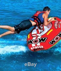 1 Personne Tractable Eau Tube Ace Racing Starter Kit De Remorquage 12v Pompe Et 1k Corde