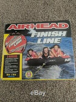 3 Airhead Rider Towable Tube Gonflable Eau Sport Heavy Duty Finish Line