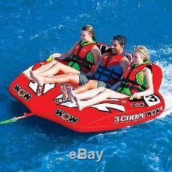 3 Personne Coupe Cockpit Tractable Tuyau Eau Gonflable Piscine D'eau Du Lac Sport