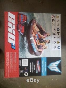 3 Personne Tractable Raft Float Sports Nautiques Bateau Intérieur Tube Gonflable De Remorquage Tubes