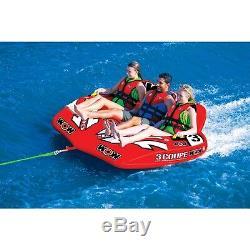 3 Tube De Coupe P Fun Gonflable Ski Nautique Salon Tractable Flotteur Wow Article 15-1040