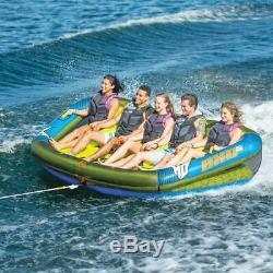 5 Personne Tractable Raft Flotteur Sports Nautiques Bateau Intérieur Tube Gonflable De Remorquage Tubes