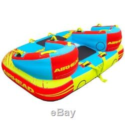 Airhead 1 À 3 Rider Challenger Gonflable Tractable Nautique Sports Nautiques Tube
